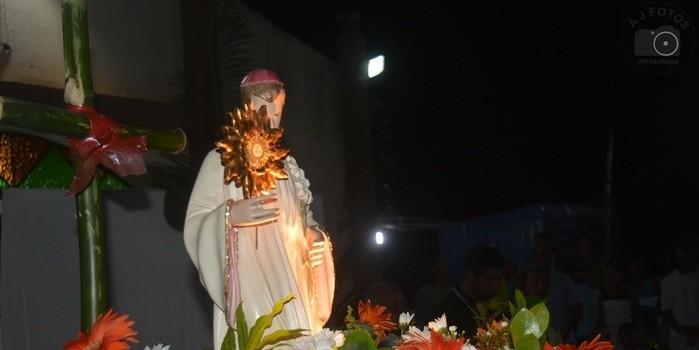 Registros da ultima noite dos festejos da comunidade Sapucaia