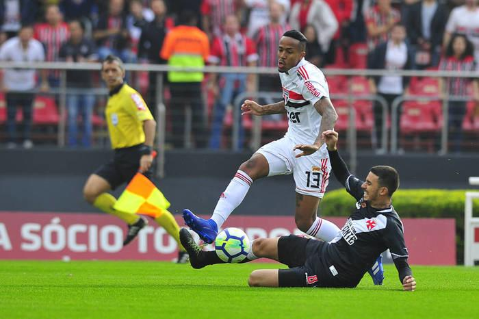 São Paulo venceu o Vasco  (Crédito: Sergio Barzaghi/ Gazeta Press)