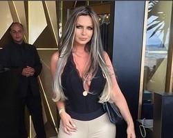 "Após beijos, Douglas Sampaio comenta foto de Veridiana: ""Gata"""