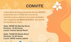 CRAS de Ilha Grande-PI realiza palestra educativa.