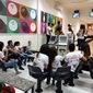Jovens do NUCA de Padre Marcos visitam o Picos Plaza Shopping