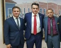 Diego Teixeira buscando recursos para o município de Amarante; veja