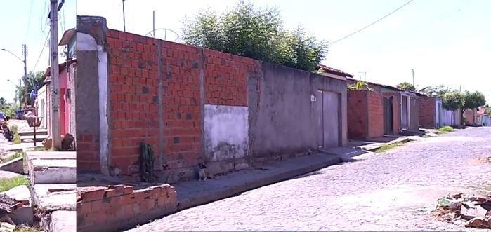 Local onde os menores foram baleados (Crédito: Rede Meio Norte)