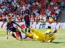 Com gols de Ney, Di María, Cavani e Mbappé, PSG vence Nîmes
