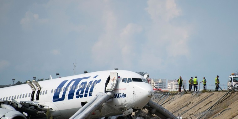Avião pega fogo ao pousar em Sochi  e 18 pessoas ficam feridas