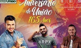 Prefeito confirma Avine Vinny no aniversário de União