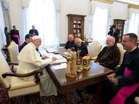 Papa recebe bispos dos EUA após denúncias de abusos sexuais no país