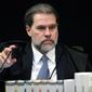 Dias Toffoli toma posse como presidente do STF