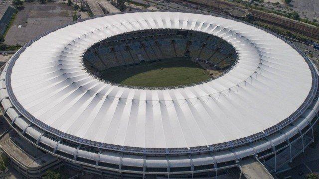 Maracanã vai trocar a grama artificial ao rredor do campo  (Crédito: Renee Rocha)