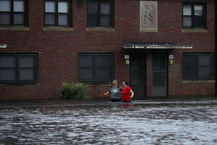 As agências visam que 'inundações por chuvas aumentarão durante os próximos dias'  (Crédito:  Somodevilla / Getty Images/AFP)