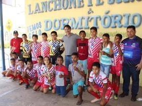 Seleção freitense sub-13 é campeã da Taça Rio Parnaíba de Futsal