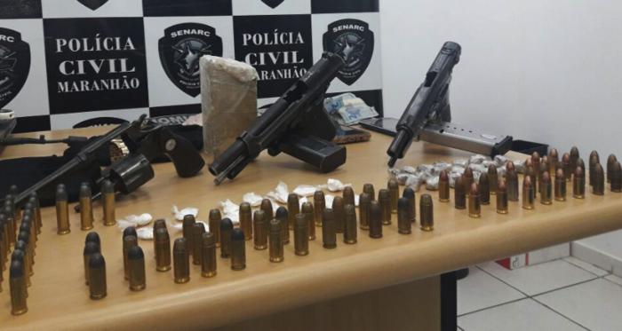 Polícia Civil apreende vasto material em Timon (Crédito: Polícia Civil do Maranhão)