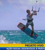 Novas Fronteiras: ação social desenvolve a prática do kitesurf