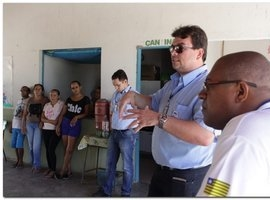 Defesa Civil recebe equipe do SISAR Piauí