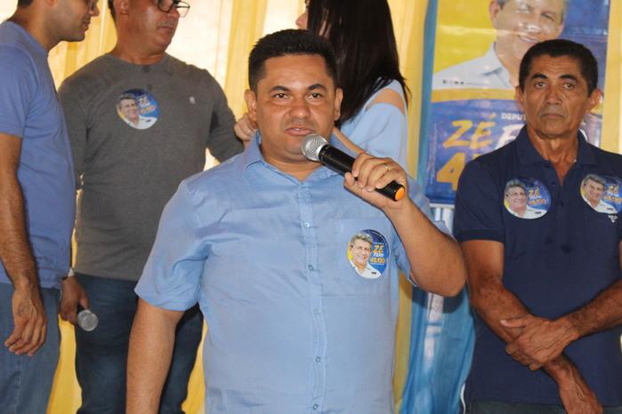 Vereador Carlos Augusto  (Crédito: Mikelson Deivid)