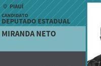 Miranda Neto diz que segue candidato