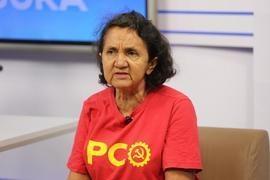"""Lourdes Melo chama PSTU de """"abutre"""" e defende liberdade de Lula"""