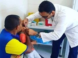 Município alcança meta de vacinação contra Pólio e Sarampo
