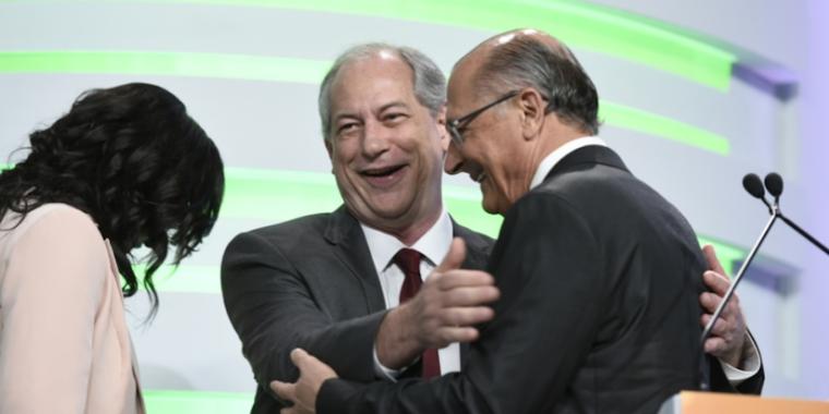 Alckmin defende reforma trabalhista e Ciro quer fim de polarização