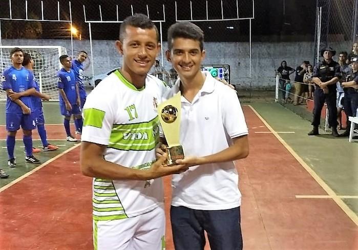 Marcelo - Artilheiro da competição  (Crédito: Marcelo Cardoso)