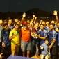 Final de campeonato entre bairros em Monsenhor Gil