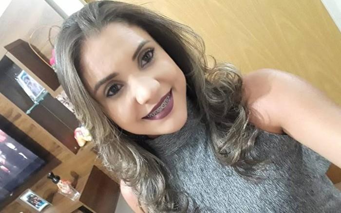 Laiane dos Santos foi espancada pelo namorado  (Crédito: Reprodução/ Facebook )