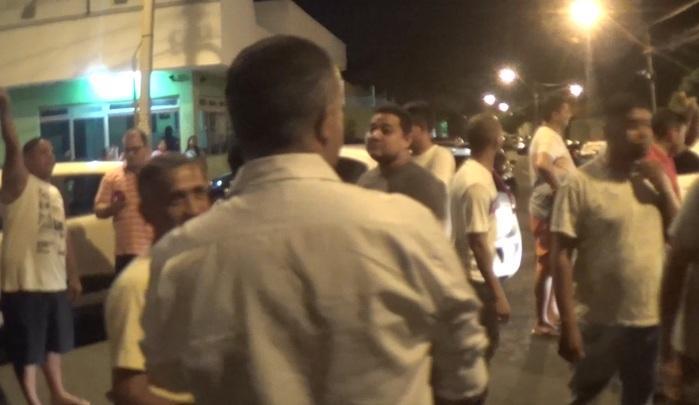 Motoristas da Uber realizam protesto (Crédito: Reprodução/TVMN)