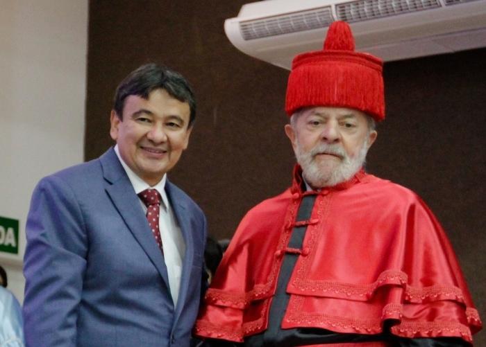 Wellington Dias e Lula (Crédito: Reprodução/Ascom)