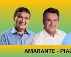 Wellington Dias e Ciro Nogueira realiza caminhada em Amarante