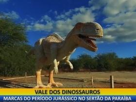 Quadro Novas Fronteiras: Conheça o Vale dos Dinossauros na Paraíba