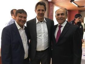 Marcelo Castro grava mais um programa eleitoral com Fernando Haddad