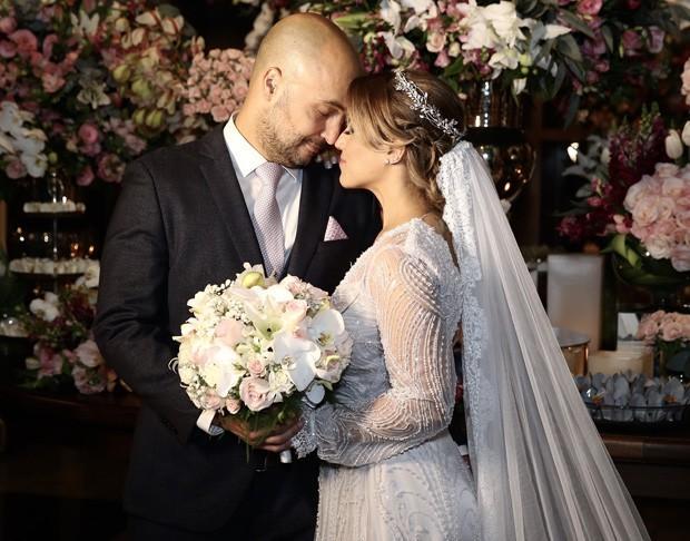 Camilla Camargo e Leonardo Lessa se casam (Crédito: Manuela Scarpa/Brazil News)