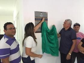 Prefeito entregou UBS para comunidade Matinha