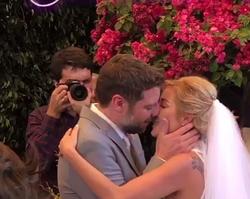 Luiza Possi e Cris Gomes se casam em São Paulo