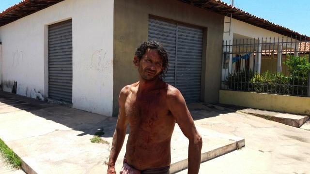 """Vítima, Domingos Lopes Neres, o """"Maléo"""" (Crédito: reprodução revistaaz)"""