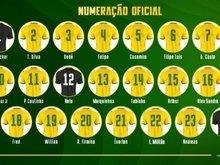 Seleção divulga numeração oficial e Richarlison fica com a camisa 9