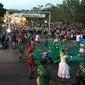Um grito de salve à natureza durante o Desfile Cívico