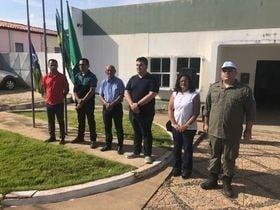 Hasteamento das bandeiras abre celebração do 7 de setembro