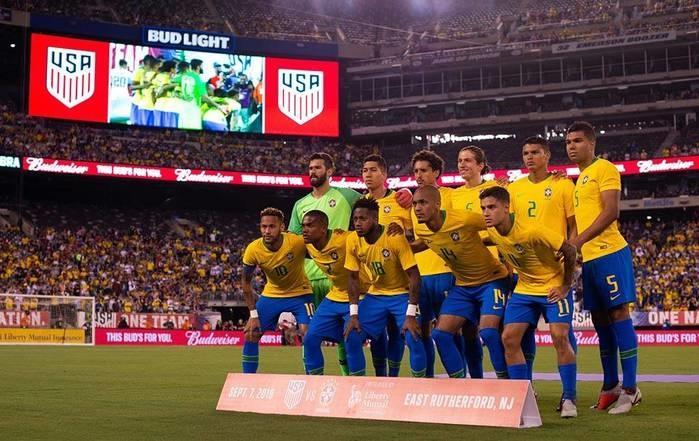 Seleção Brasileira (Crédito: Pedro Martins/MoWA Press)