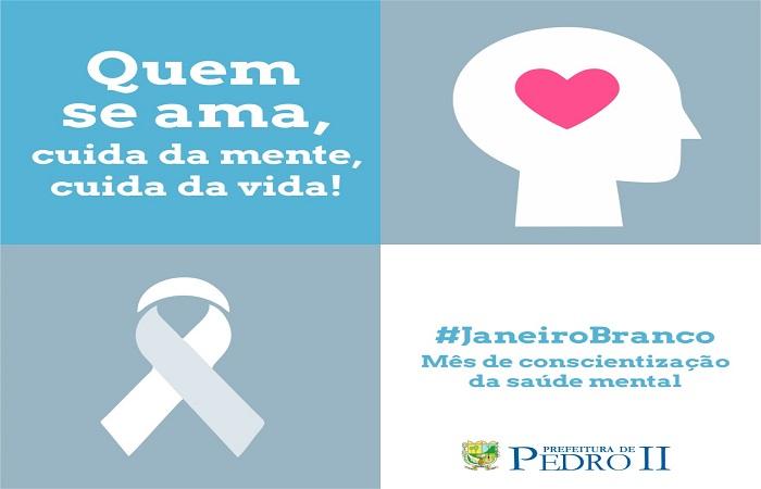 Pedro II realiza campanha no mês de conscientização da saúde mental