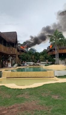 Incêndio em hotel de Jericoacoara foi causado por curto-circuito