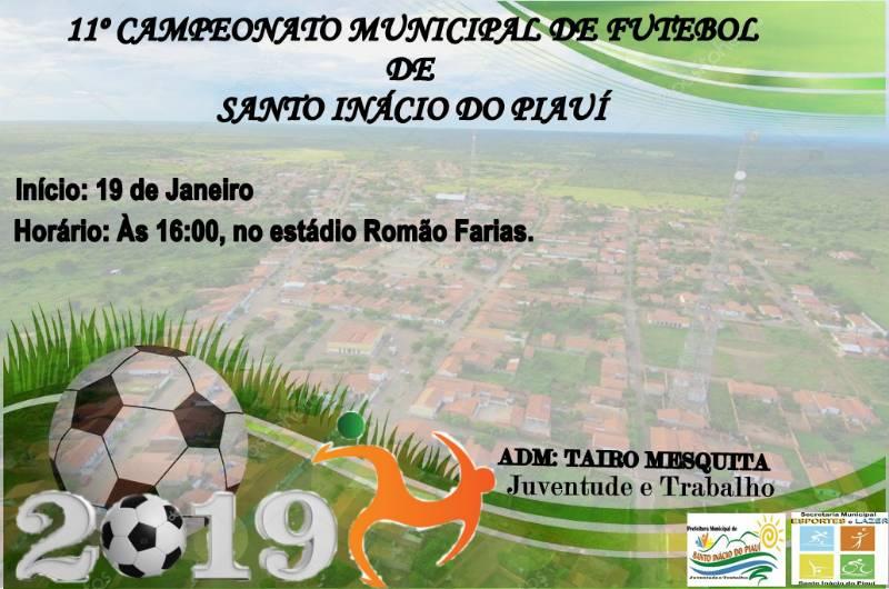 Campeonato Municipal de Futebol terá início dia 19 em Santo Inácio - Imagem 1