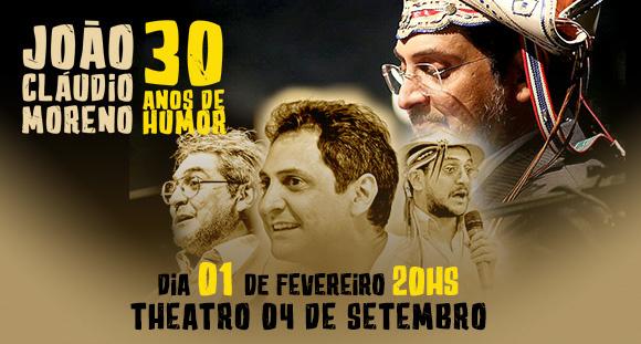 João Claudio Moreno - 30 Anos de Humor