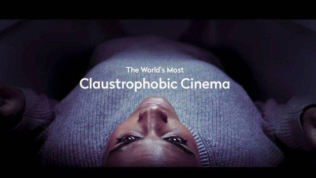 Festival de cinema vai exibir filme dentro de caixões