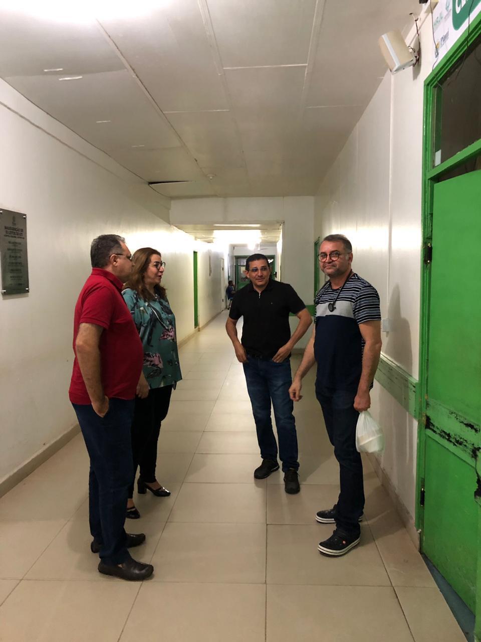 Hospital de Picos volta a funcionar em total normalidade após fortes chuvas na cidade - Imagem 1