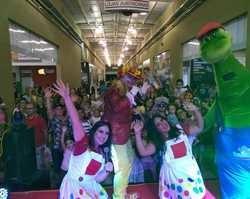 Show da Turma do Teleleco foi um sucesso de público no Picos Plaza Shopping