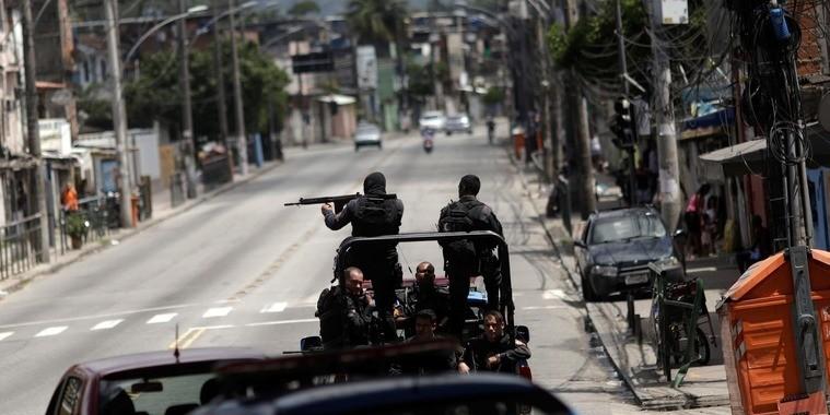 Milícia domina o crime organizado no Rio de Janeiro