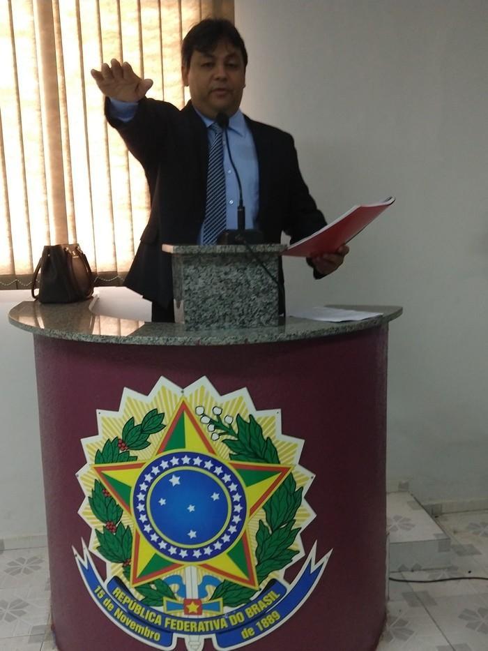 Mavilson Veloso, novo presidente da câmara municipal de Demerval Lobão (Crédito: Fotos: Kátia Cruz)