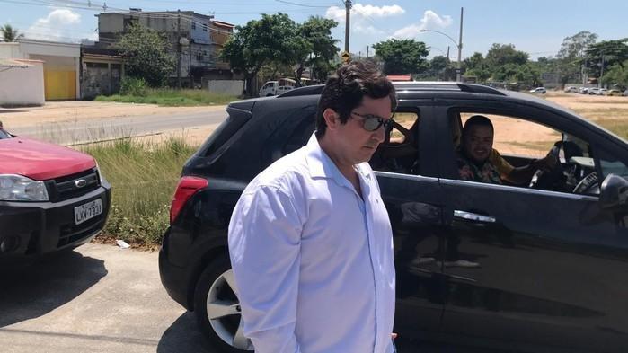 Fábio Tuffy Felippe, suspeito de agredir a ex-mulher (Crédito: Henrique Coelho/ G1 )