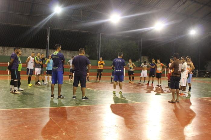 Seleção Freitense no treino (Crédito: Mikelson Deivid)